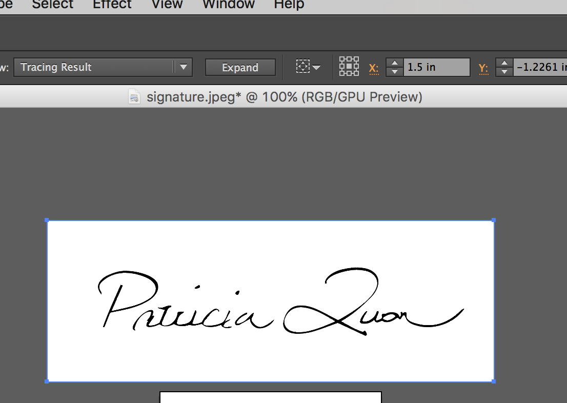 How To Vectorize Your Artist Signature (Illustrator) – VIDA